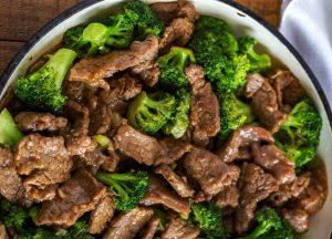 recette boeuf brocoli actifry