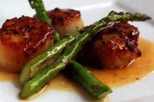 recette petoncles ail asperges
