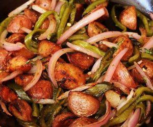 recette oignons pomme de terre actifry