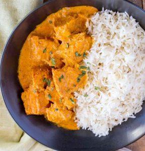 recette poulet tikka masala actifry