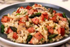recette saucisses champignon actifry