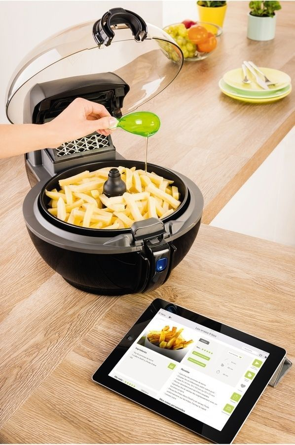 cuisson intelligente de l'Actifry Smart XL Seb